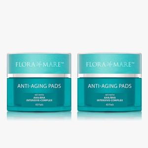 Anti-Aging Pads Duo 2x 60 Stück