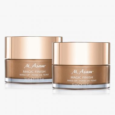 MAGIC FINISH Make-up Mousse Duo 2x 30 ml