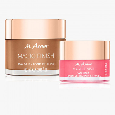 MAGIC FINISH Make-up Mousse & Volume Lip Balm, Set 2-tlg.