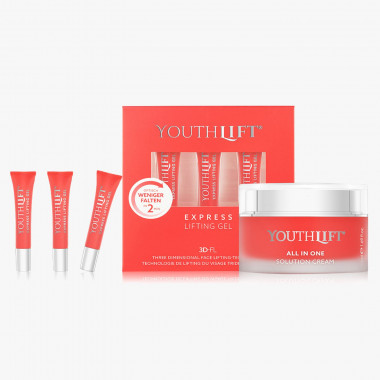 Youthlift All in one Solution Cream & Express Lifting Gel, Set 3-teilig