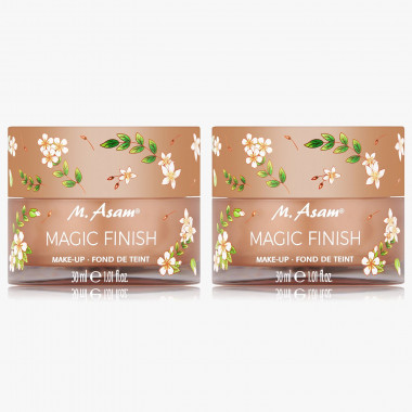 MAGIC FINISH Make-up Mousse FLOWER EDITION Duo 2x 30 ml