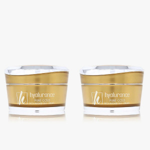 PURE GOLD Tagescreme Duo 2x 50 ml