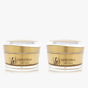 PURE GOLD Nachtcreme Duo 2x 50 ml
