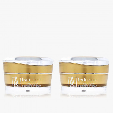PURE GOLD Augencreme Duo 2x 15 ml