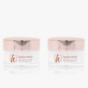 SKIN REVOLUTION 24h Augencreme Duo 2x 20 ml