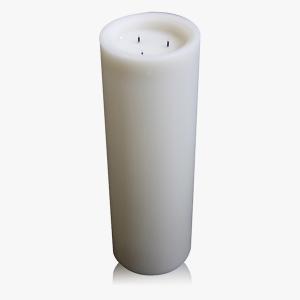 Extra grosse LED-Bodenkerze H 45 cm