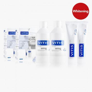 VITIS® Whitening Zahnpflege-Set, 4-teilig