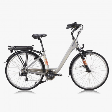 Zenith E-Bike Urban Deluxe ZCL °01 Silber-Beige