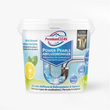 Power Pearls Abflussreiniger mit Schmutz- und Fettlösekraft 1 kg