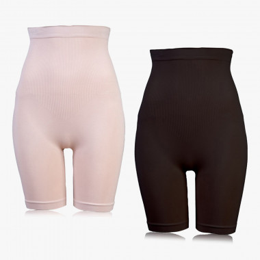 Shapewear Power-Panties Nilit® Bodyfresh Garn schwarz/sandelholz, 2 Stück