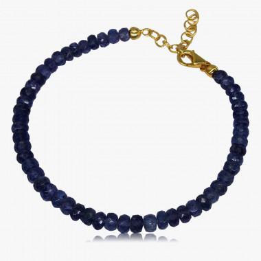 Edelstein-Armband Tansanit AA