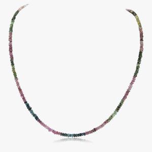 Edelsteincollier Turmalin multicolour