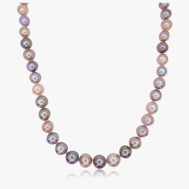 Perlencollier Edison in exquisiten Naturtönen