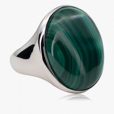 Ring Malachit