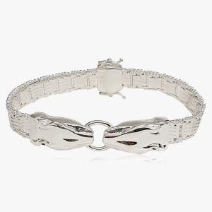 Armband Panther 950er Silber