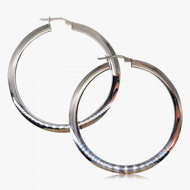 Creolen 950er Silber