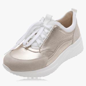 Stylisher Sneaker Hirschleder
