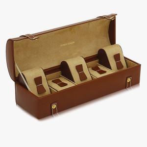 Echtleder-Uhrenkoffer Cordoba
